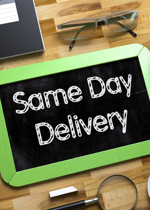 Same-day-deliveries